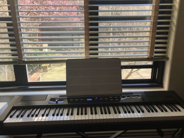 piano at home office