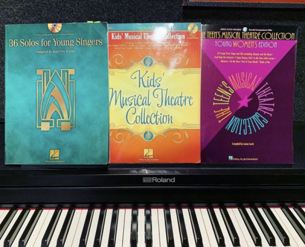Some of my favorite vocal books!