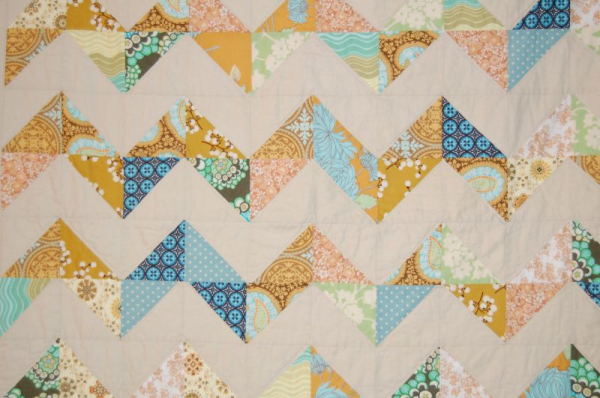 Intermediate Chevron Quilt