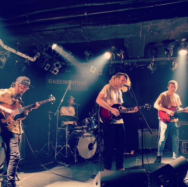 Playing in Tokyo, Japan with Co Founder