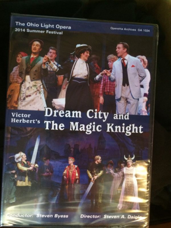 "DVD version of ""Dream City and the Magic Knight"" at The Ohio Light Opera."