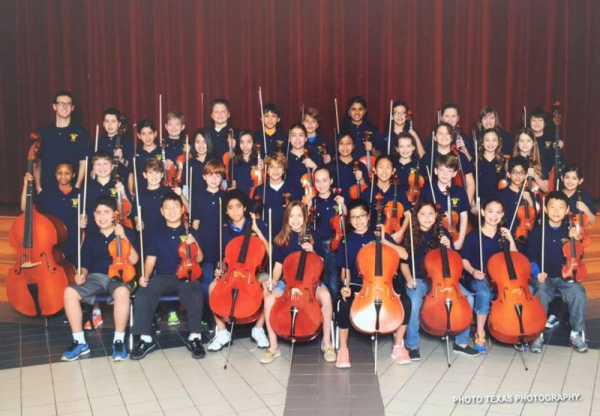 Orchestra 2013, ages 10-12, The Woodlands TX.