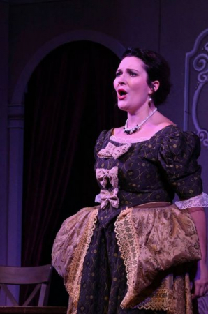 Toured Italy performing a lead operatic role