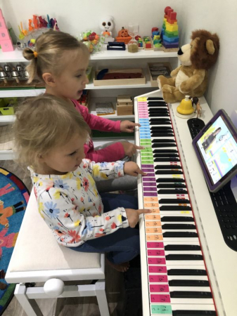 Piano lessons at any age from birth