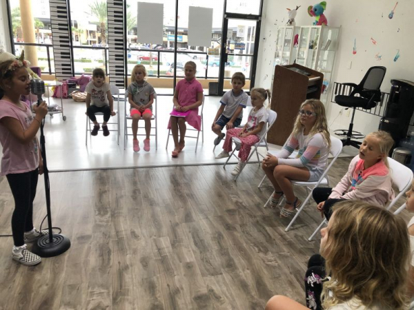 Group acting and singing lessons