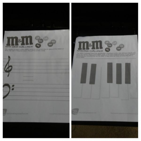 A new favorite game using candy to reinforce note names. Check out makingmusicfun.net for the free resources.