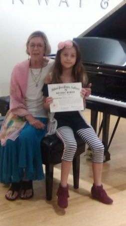 2017 Piano Guild Audition.