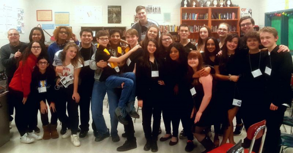 Students from my Character Development Workshop at the New Jersey State Thespian Festival