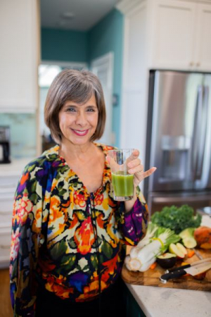 I love making healthy foods and smoothies.  What you eat really matters in how you feel!