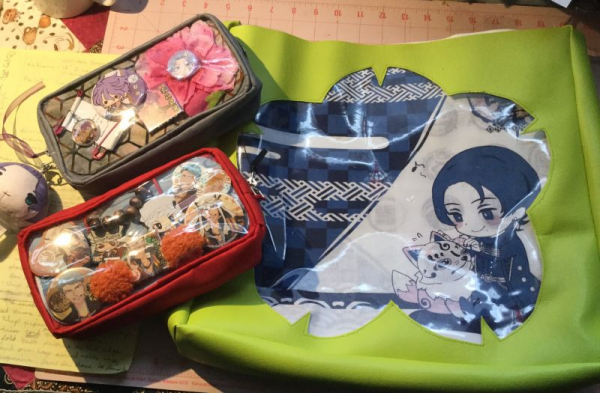 Examples of pencil pouches an bags