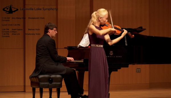 Lewisville Lake Symphony International collegiate string and harp concert competition