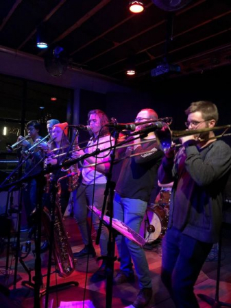 Largemouth Brass Band @ Brothers Drake Meadery (Columbus, OH)
