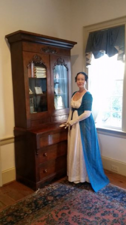 Teaching dance, at the Mary Gay house, for Dekalb History Center's History Quest.