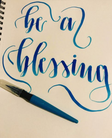 I dabbled with handlettering!