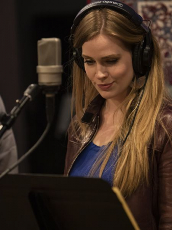 From a recording session in Burbank last year