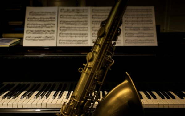My Saxophone and Piano