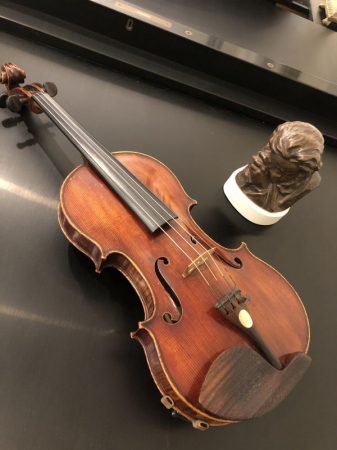 I just introduced my violin to a little Beethoven.