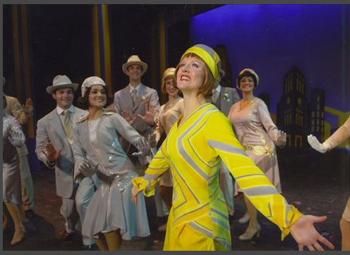 as Millie in THOROUGHLY MODERN MILLIE