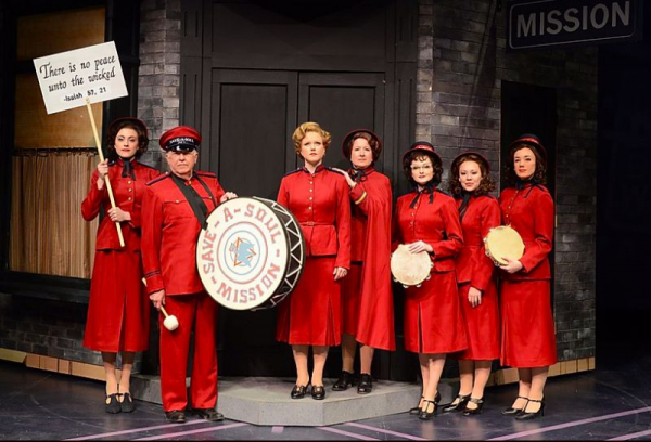 as Sarah Brown in GUYS AND DOLLS