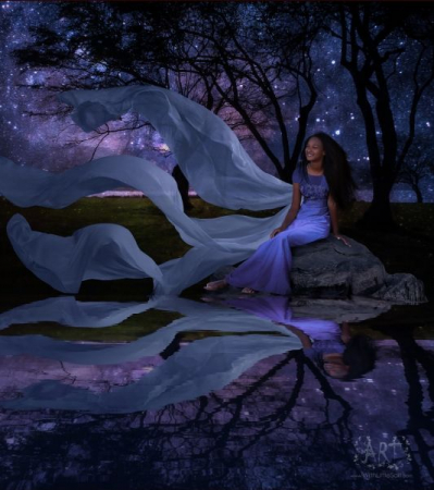 Learn how to make a reflections on water.