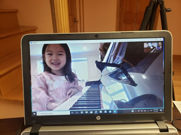 Skype Lesson with Sophie
