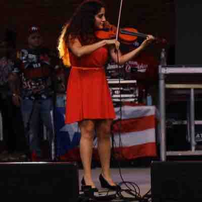 Performing the Puerto Rico Festival in Boston City Hall (2019)