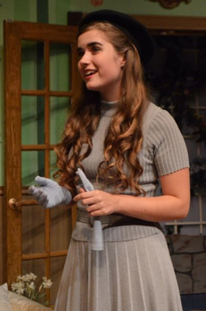 """Julia as """"Midge"""" in Agatha Christie's The Hollow, directed by Suki"""