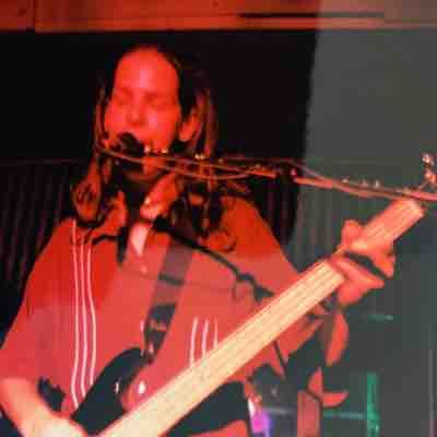 Playing bass with a friends band in Mobile, Alabama