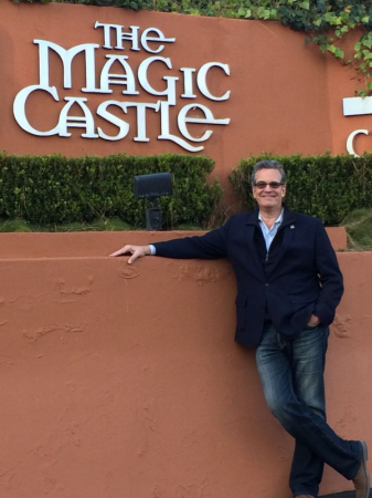 Back at the Magic Castle in Beverly Hills, CA. 2017