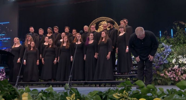 Competing with ETSU Chorale in Llangollen, Wales. One of the best experiences of my life.