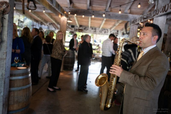 North County Chamber of Commerce gala at the Bernardo Winery