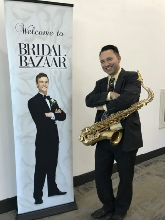 I have been a featured entertainer at the Bridal Bazaar shows. This is at the San Diego Convention Center.