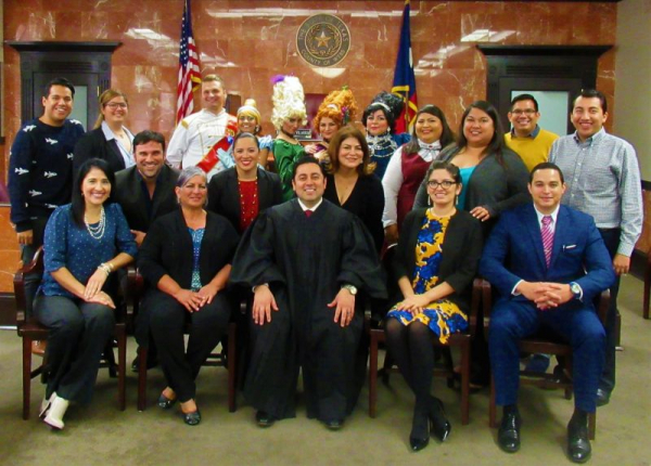 Class in the Courtroom  Presented by County Court at Law II  Written by Judith Zaffirini Directed by Tony Bondoc