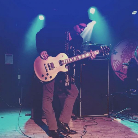 Playing with Philly legends BANG! at Rams Head Live in Baltimore at the Days of Darkness festival. 11/2018