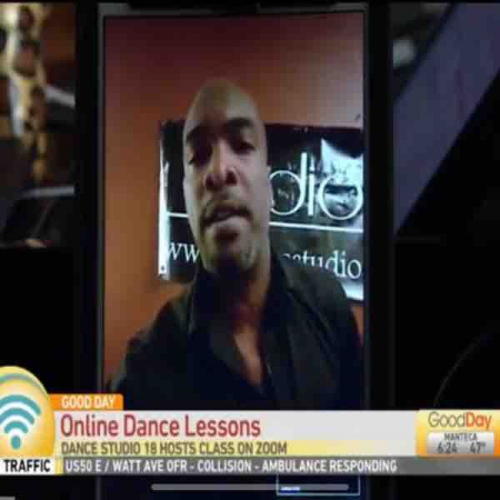 A t.v. interview with Good Day Sacramento about my online dance lessons!