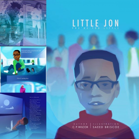 """My first published book entitled """"Little Jon, you're too little"""""""