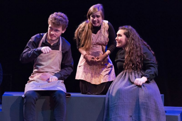 Julia as Lilly Smalls in Under Milk Wood directed by Peter Reynolds, photo by Mark Garvin