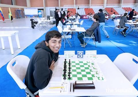 Representing Team USA in Cochabamba, Bolivia for the Pan-American International Chess Tournament