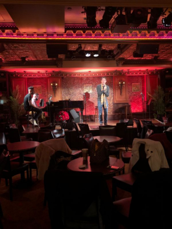 Rehearsal at 54 Below, New York City