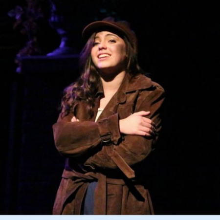 """Performing """"On My Own"""" as Eponine in """"Les Miserables"""" at CM Performing Arts Center/ Noel S. Ruiz Theatre"""