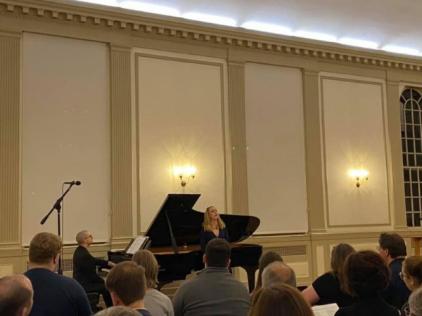 Singing in the 2020 Lindsey Christiansen Art Song Festival. This year we celebrated the work of Samuel Barber.
