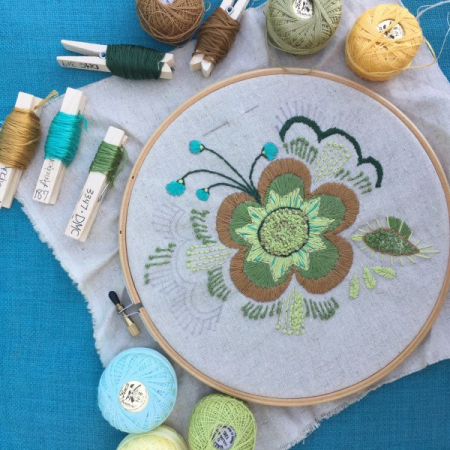 Intermediate Embroidery