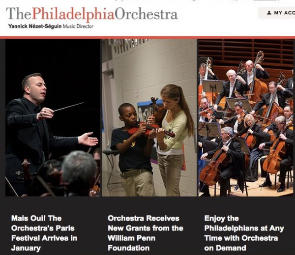 Featured in eNews as a Philadelphia Orchestra Teaching Artist