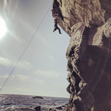 Rock climbing was my first outdoor hobby and still one of my favorites.