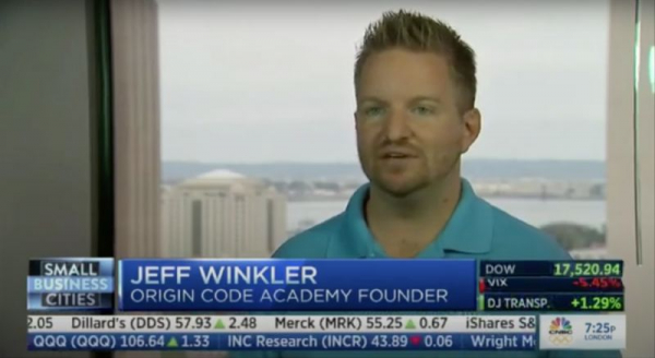 Another CNBC appearance about junior developers and coding...