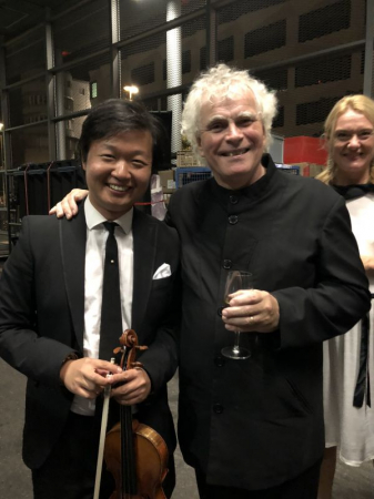Sir Simon Rattle and Magdalena Kozena in Lucerne
