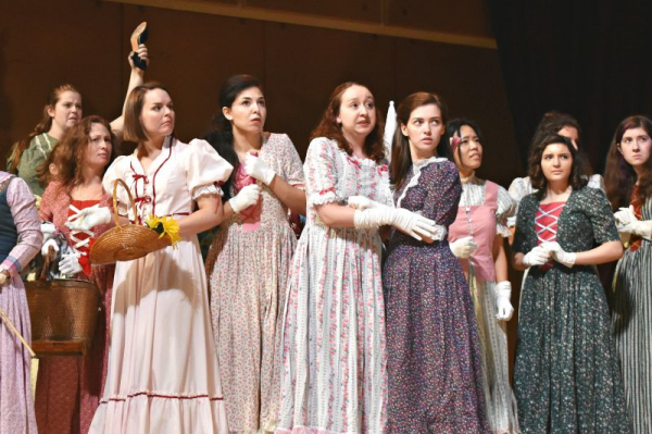 Haley Fryer as Edith in Pirates of Penzance with MIOpera