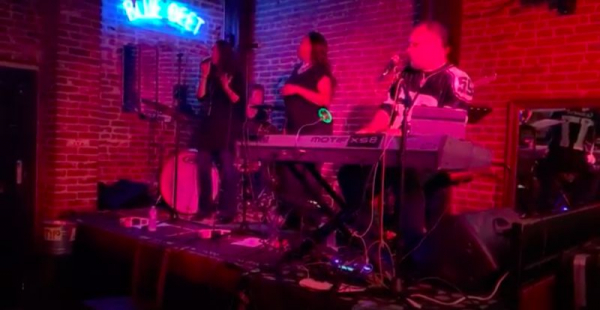 Singing with the R&B/Funk band, RorySeldon With InnerSession