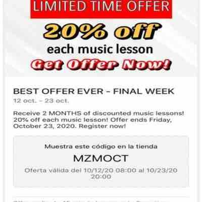 Ask about new promo offers!