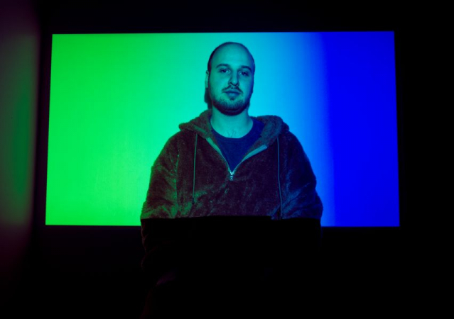 From a fun projector photoshoot
